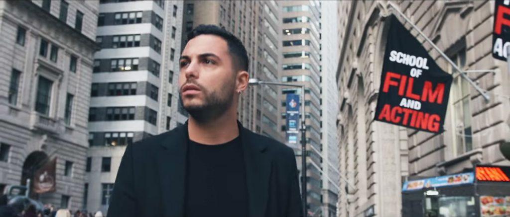 Alban Bartoli dans les rues de New York